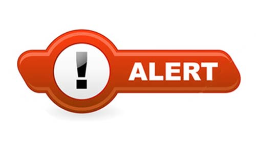 Alert For Internet Banking Users