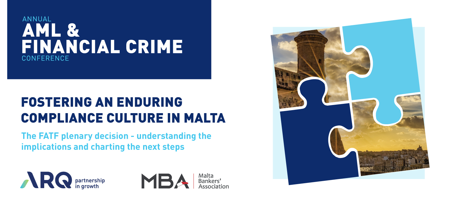 ARQ Group and MBA to host conference on fostering an enduring compliance culture in Malta